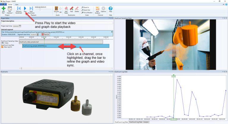 Video Exposure Monitoring